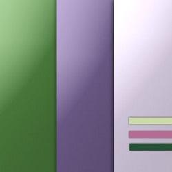 Фиолетовый и зеленый: цвета в интерьере