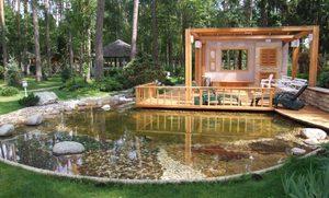 Идеи обустройства двора в загородном доме