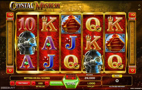 Игровой автомат Crystal Mystery порадует каждого гостя казино Вулкан