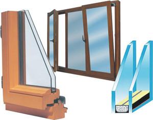 Какие стеклопакеты используются в окнах?