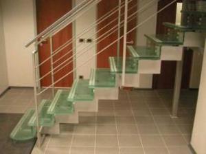 Лестницы из стекла в вашем интерьере