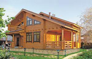 Нюансы строительства деревянного загородного дома.