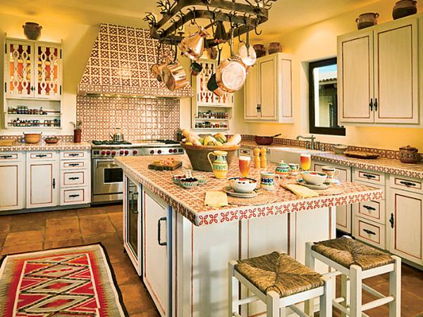 Смелые идеи в дизайне оформления стен ванной или кухни керамикой